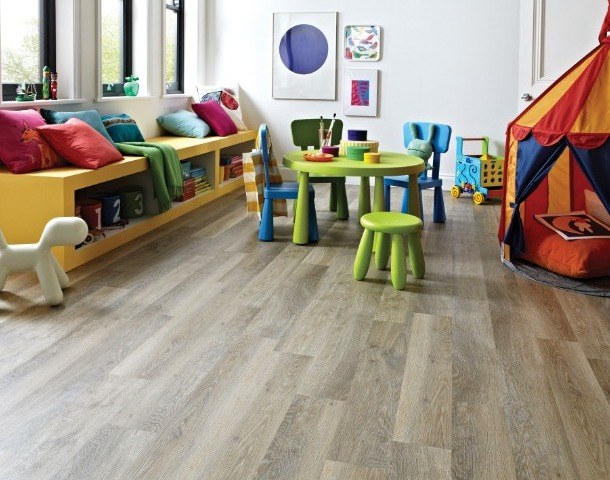 Lime Washed Oak Playroom