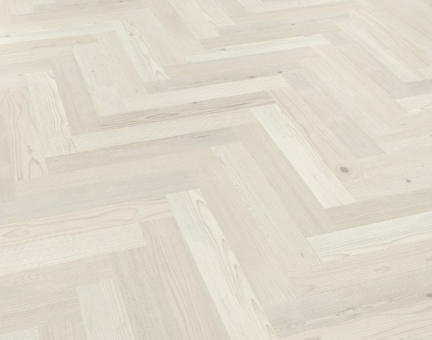 Washed Scandinavian Pine Angled Flooring